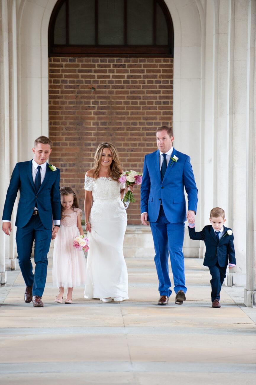 Wedding family photographs