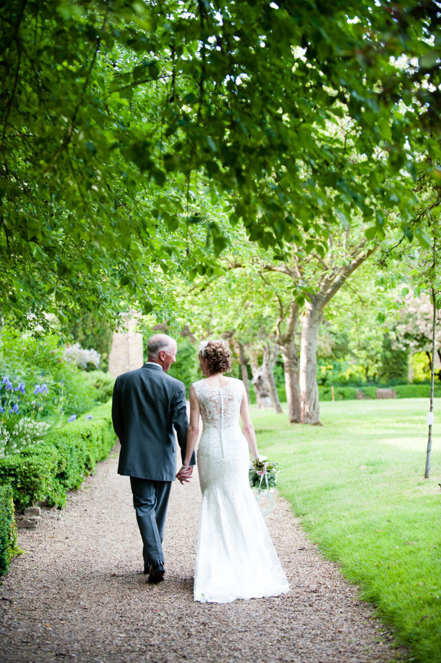 Outdoor wedding photography Hanbury Manor