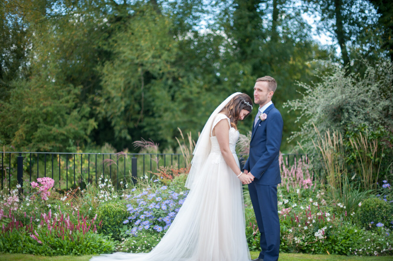 Professional wedding photos at Tewin Bury Farm
