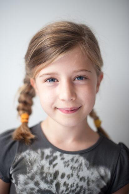Little girl professional portrait
