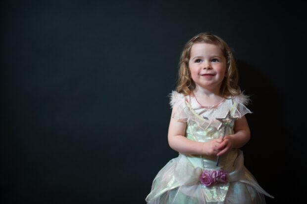 Little princess portrait