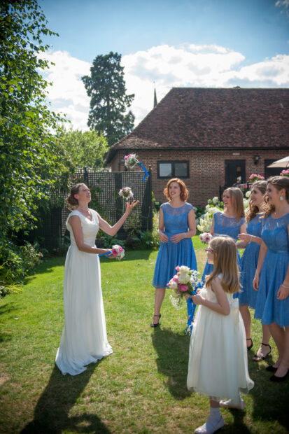 Wedding photographer Herts,St Barnabas Center